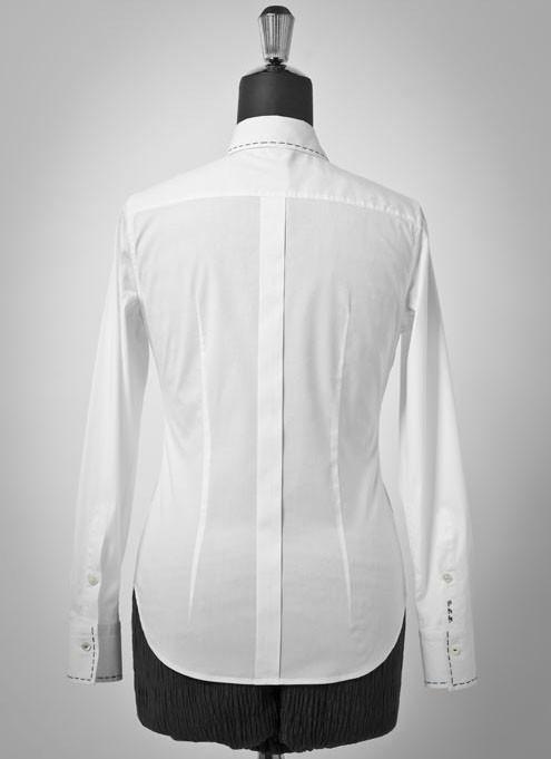 Camicia Bianca Elegante da Donna Gelsomino