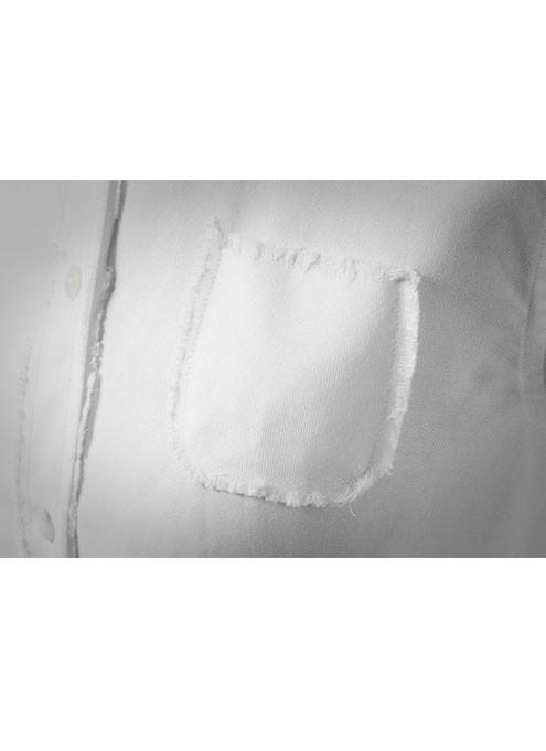 Taschino Camicia da Donna Bianca Mughetto